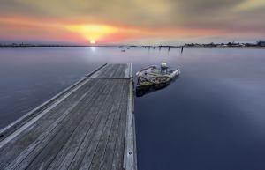1: Saco harbor
