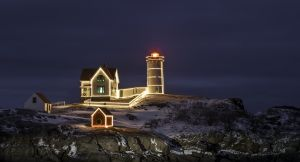51: Nubble Light ,Cape Neddick Lighthouse , Sohier Park ,York