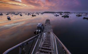 6: Sunrise at Falmouth Landing