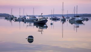 24: Sunrise at Falmouth Landing