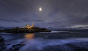 55: Nubble Light ,Cape Neddick Lighthouse , Sohier Park ,York