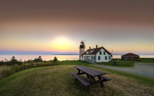 54: West Quoddy Head in Lubec, Maine