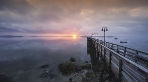 36: Sunrise at Falmouth Landing