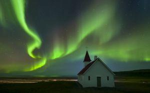 Aurora Borealis, Breidavik, Iceland