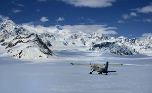 Glecier Landing, Denali, Alaska