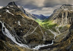 Trollstigen (Troll's Ladder Road), Norway