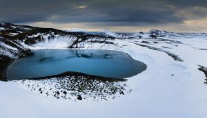Kerið ,Iceland Volcanic Crater Lake