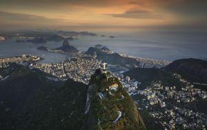 Over Rio de Janeiro