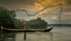 Fisherman,Colombia