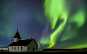 Northern Lights, Breidavik, Iceland