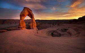 The Delicate Arch, Arches NP, Utah