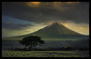 Holy mountain,Tanzania