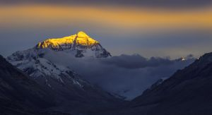 Everest from Tibetan side