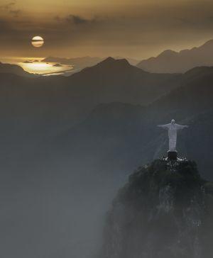 Helicopter flight Over Rio de Janeiro